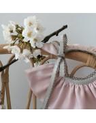 Vêtement  fille  0-18 mois confection artisanale fabriqué en France